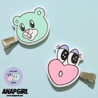 ANAP KIDS & ANAP GiRL(アナップキッズ)のヘアアクセサリー/ヘアクリップ・バレッタ