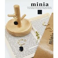 minia(ミニア)のアクセサリー/ピアス
