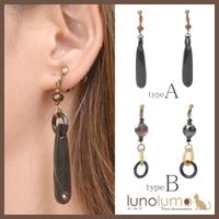 lunolumo(ルーノルーモ)のアクセサリー/イヤリング