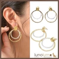 lunolumo(ルーノルーモ)のアクセサリー/ピアス