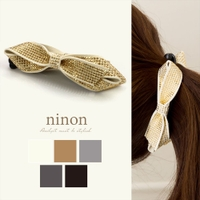 ninon(ニノン)のヘアアクセサリー/ヘアクリップ・バレッタ