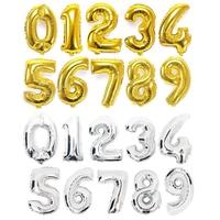 風船 バルーン 数字 ビッグ ジャンボ 大きい 誕生日会 バースデーパーティー お祝い 飾り付け 演出 室内装飾パーティーグッズキラキラ ゴージャス 単色 バラ売り 90cm 40インチ