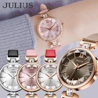 JULIUS  | 腕時計 レディース 防水 レディース腕時計 おしゃれ 人気 ファッション カジュアル 20代 30代 40代 革ベルト