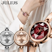 JULIUS  | 腕時計 レディース 防水 ウォッチ おしゃれ 人気 ファッション ブレスレット バングル 20代 30代 40代
