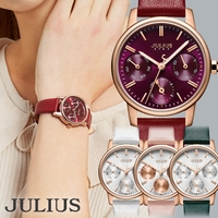 JULIUS    腕時計 レディース 防水 レディース腕時計 ブランド 時計 おしゃれ 人気 ファッション クロノグラフ風 20代 30代 40代JULIUS ジュリアス