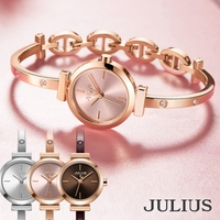 JULIUS  | 腕時計 レディース 防水 ブランド 時計 おしゃれ 人気 ファッション ブレスレット バングル 20代 30代 40代 50代