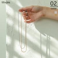 titivate(ティティベート)のアクセサリー/ネックレス