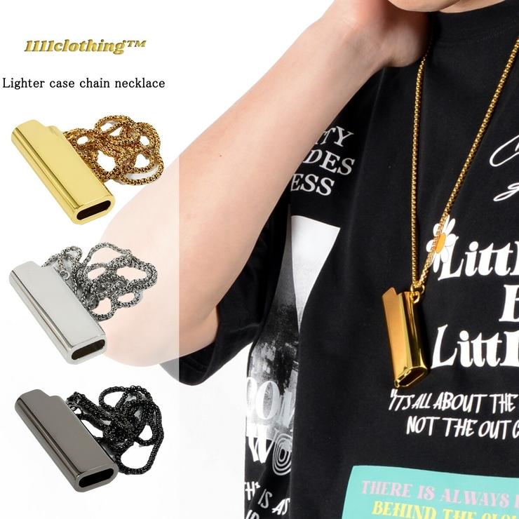 ◆ライターケース チェーン ネックレス◆   ONE 4 PREMIUM   詳細画像1