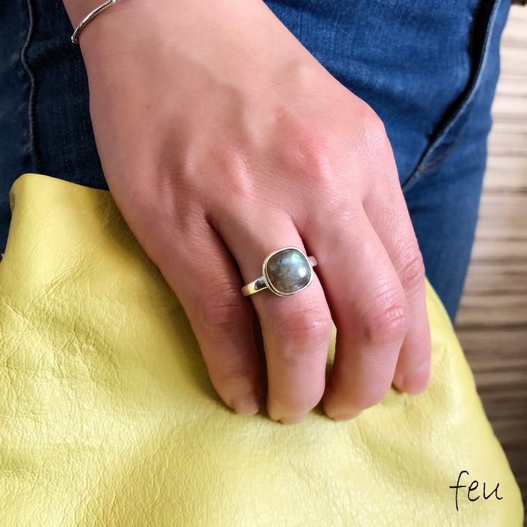 Natural Stone Ring | feu | 詳細画像1