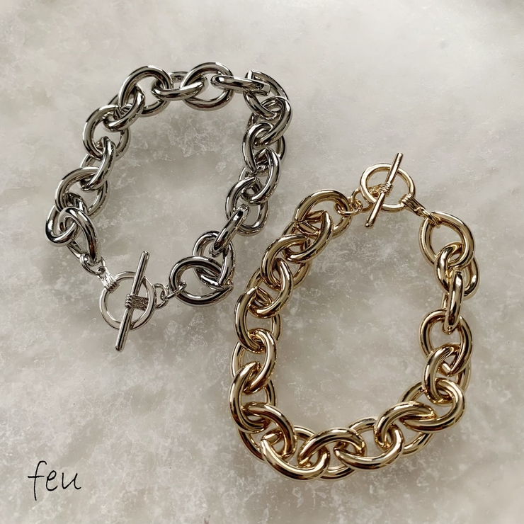 Nuance Chain Bracelet   feu   詳細画像1