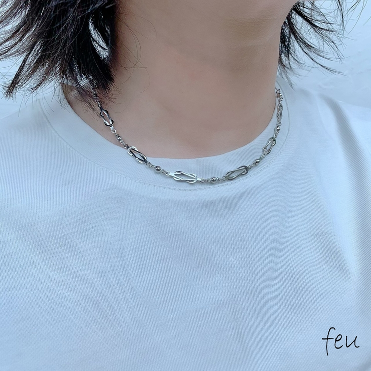 Joint Chain Necklace | feu | 詳細画像1