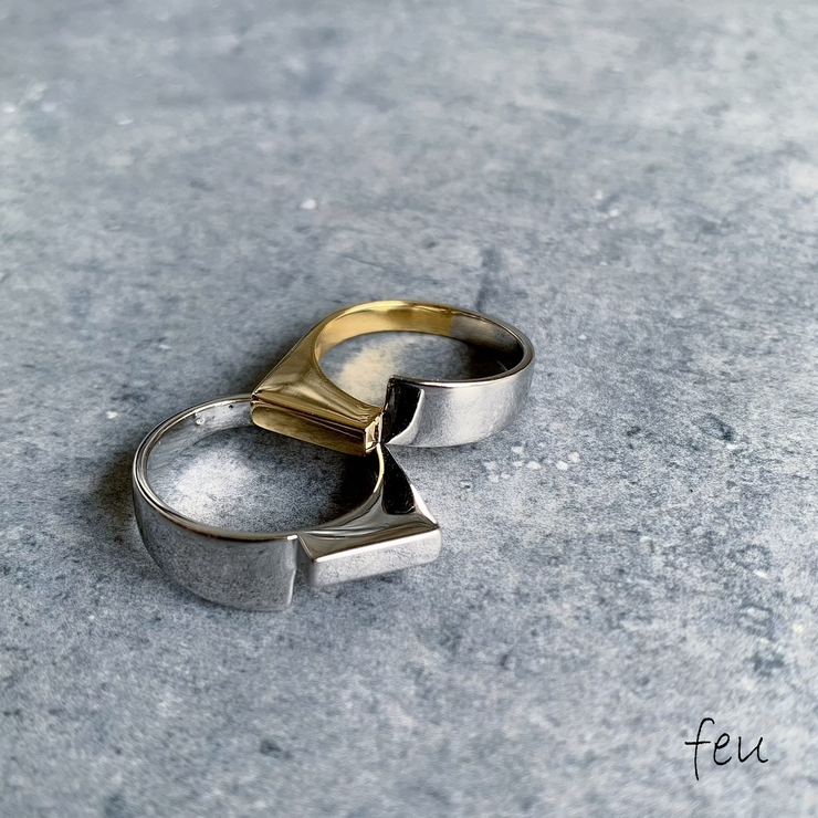 Asymmetry Ring アシンメトリーリング   feu   詳細画像1