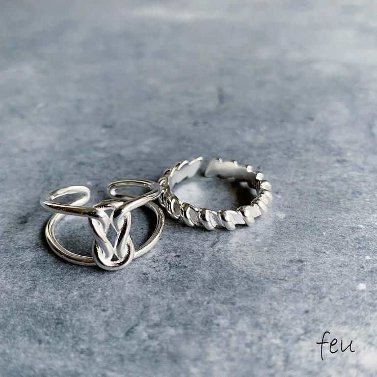 Knit Ring×Twist Ring   feu   詳細画像1