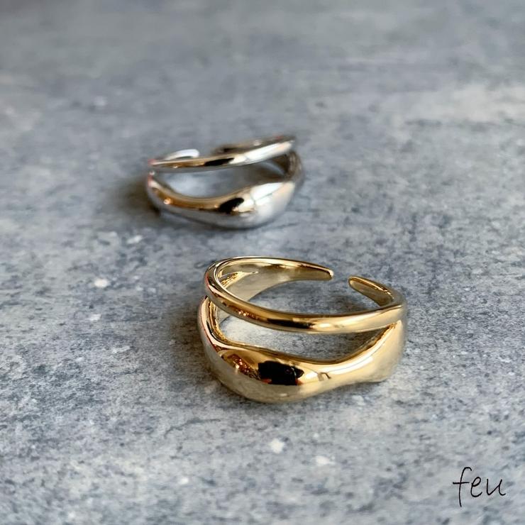 Double Cord Ring | feu | 詳細画像1