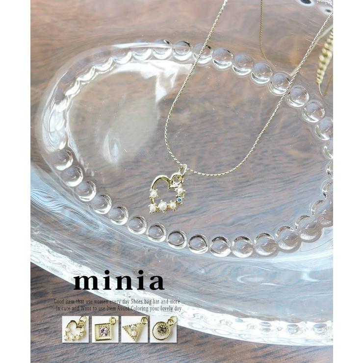 プチモチーフアソートネックレス ゴールド ネックレス   minia   詳細画像1