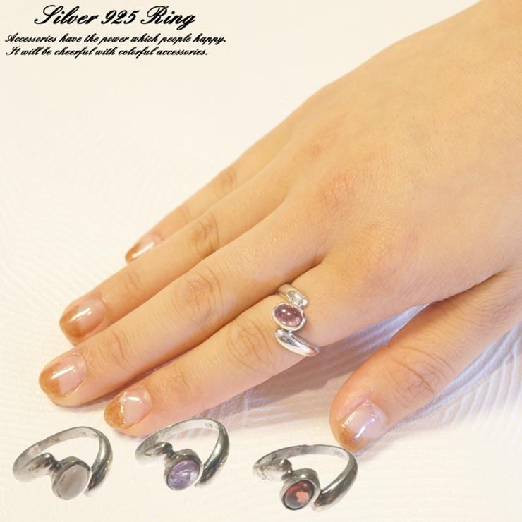 シルバーリング 指輪 天然石   YUKATANゆかたん   詳細画像1