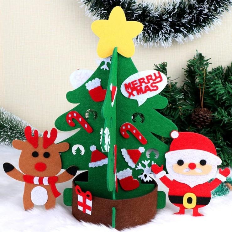 フェルト製ミニクリスマスツリー クリスマス ツリー | BODYLINE | 詳細画像1