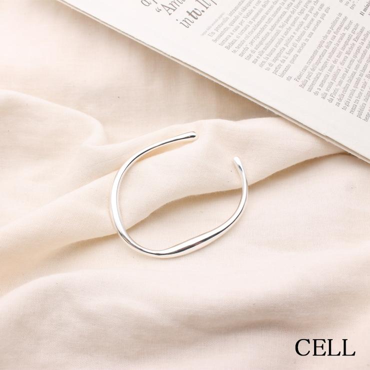 C7483a シルバー925シンプルブレスレット | CELL | 詳細画像1