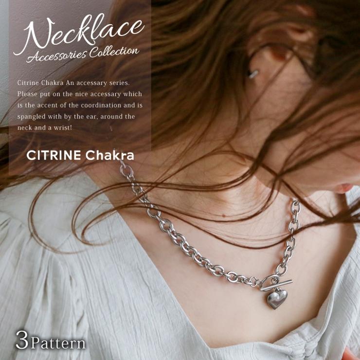 CITRINE Chakraのアクセサリー/ネックレス   詳細画像