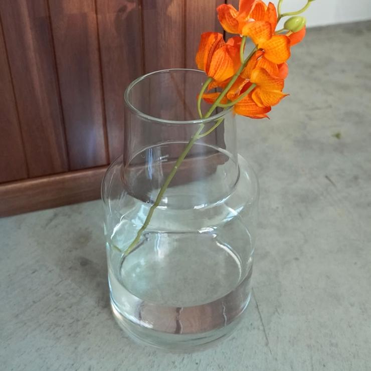 洗練されたシンプルさ リューズガラス フラワーベース | Re:EDIT | 詳細画像1