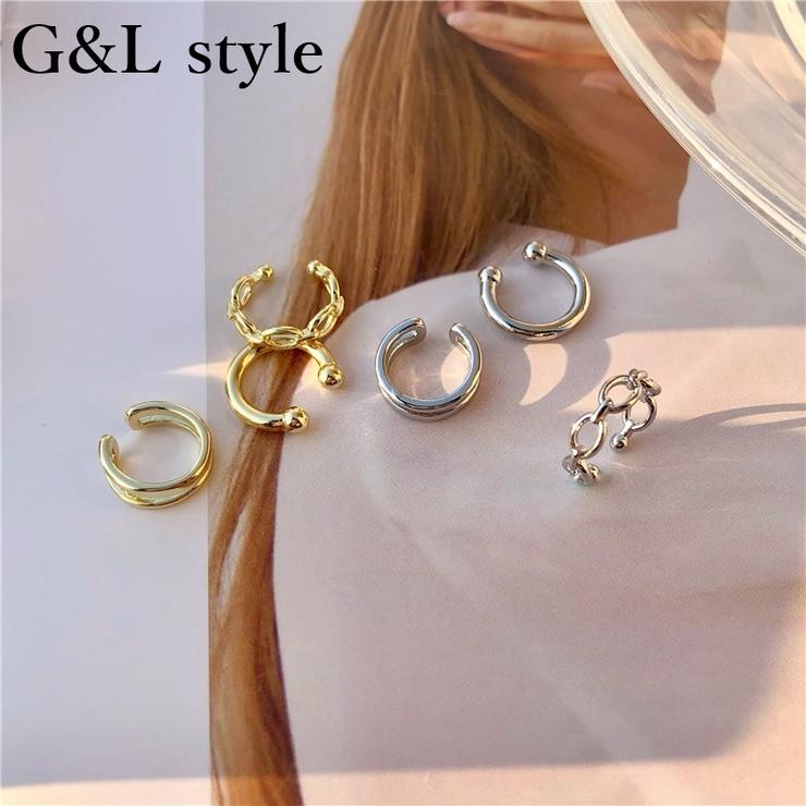 イヤーカフ3点セット 8449   G&L Style   詳細画像1
