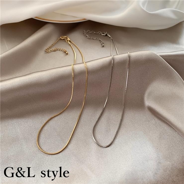 チェーンネックレス 8625 | G&L Style | 詳細画像1