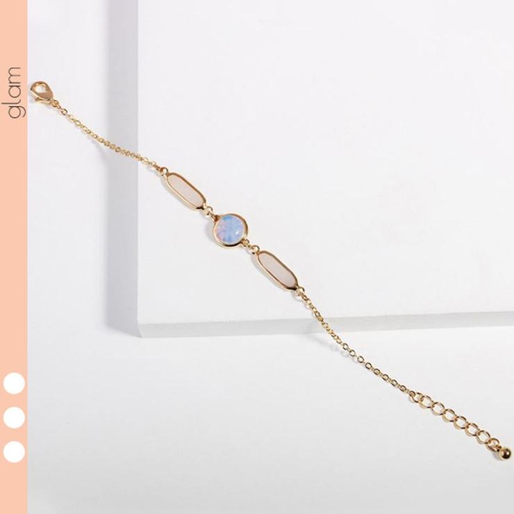 キラキラ オーロラ ブレスレット | gulamu jewelry  | 詳細画像1