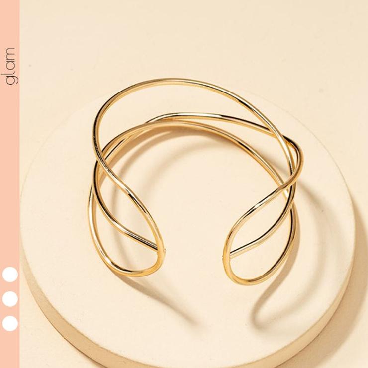 3連 バングル シンプル   gulamu jewelry    詳細画像1