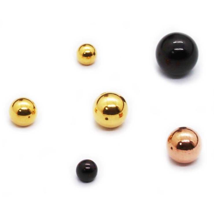 キャッチボール3個セットボディピアスパーツ   詳細画像