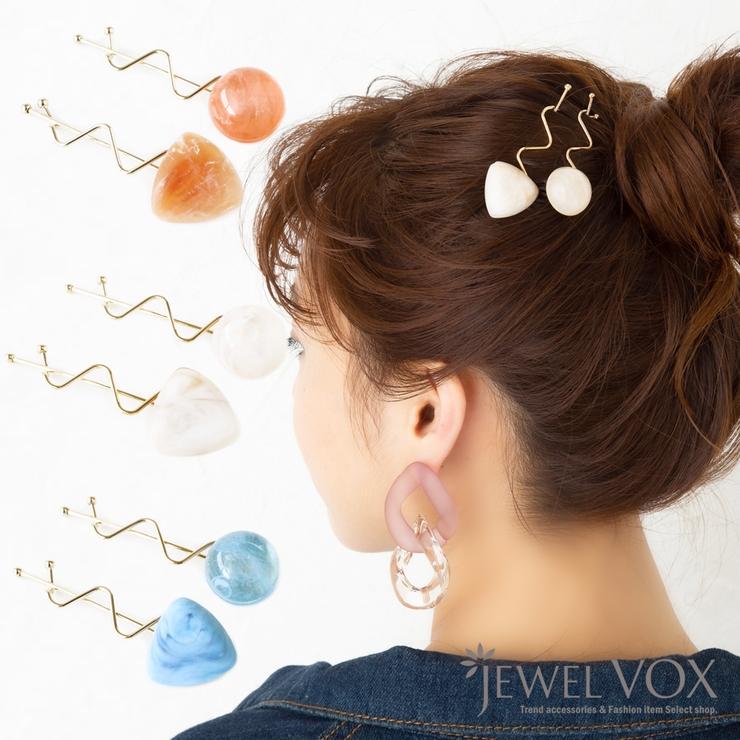 Jewel voxのヘアアクセサリー/ヘアクリップ・バレッタ   詳細画像