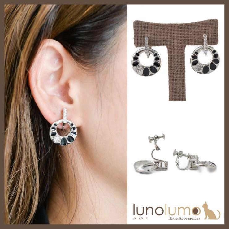 エスニックデザインのメタルイヤリング | lunolumo | 詳細画像1