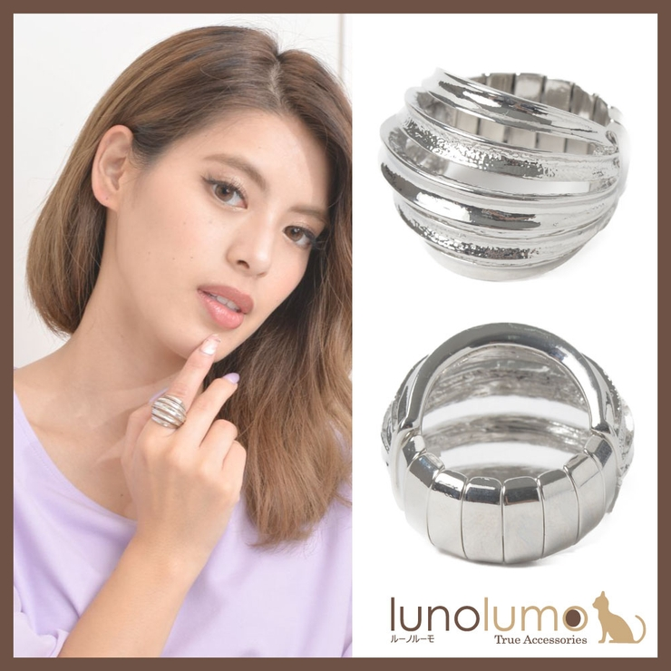 指輪 レディース フリーサイズ   lunolumo   詳細画像1