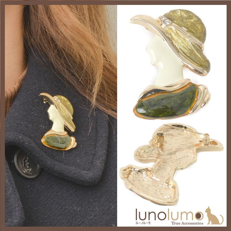 ブローチ レディース 女性 | lunolumo | 詳細画像1