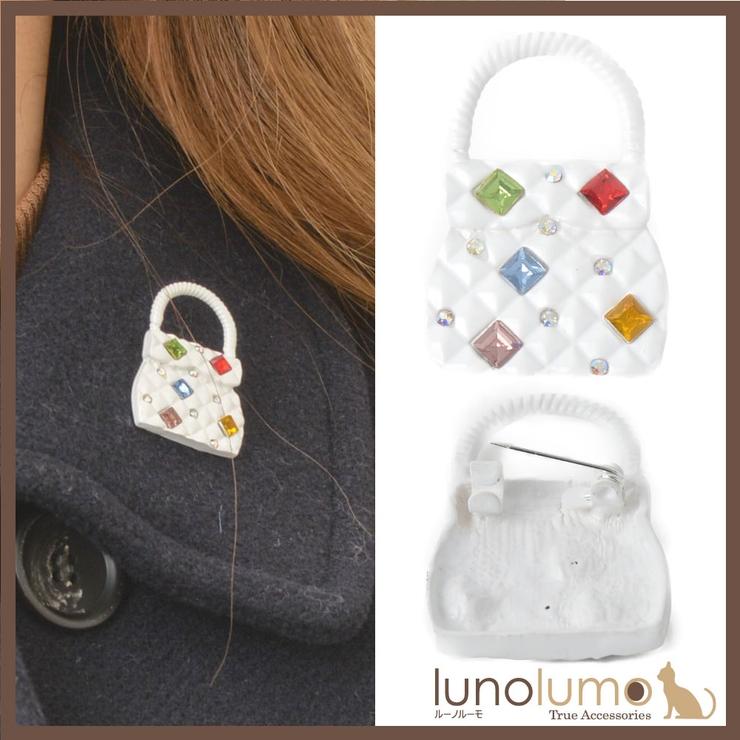 ブローチ レディース 鞄 | lunolumo | 詳細画像1