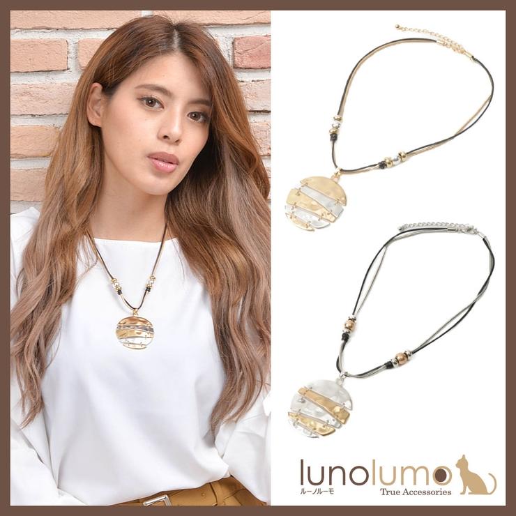 ネックレス ペンダント ショートネックレス | lunolumo | 詳細画像1
