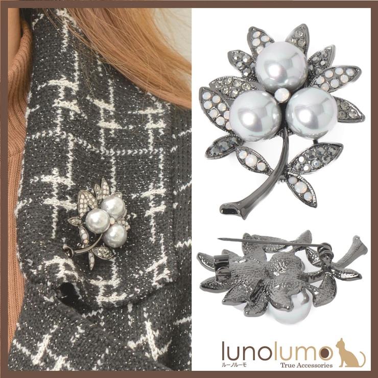 ブローチ レディース 花 | lunolumo | 詳細画像1
