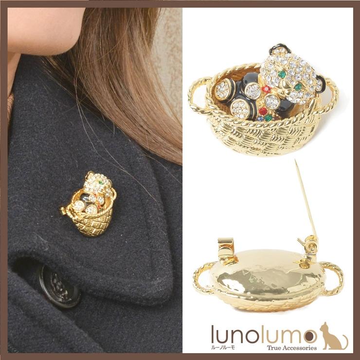 ブローチ くま クマ | lunolumo | 詳細画像1