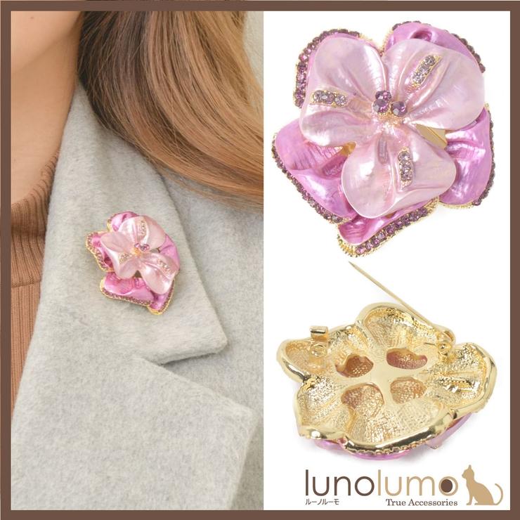 ブローチ レディース フラワー | lunolumo | 詳細画像1