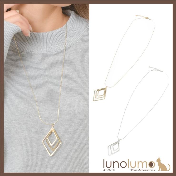 ネックレス ペンダント メタル | lunolumo | 詳細画像1