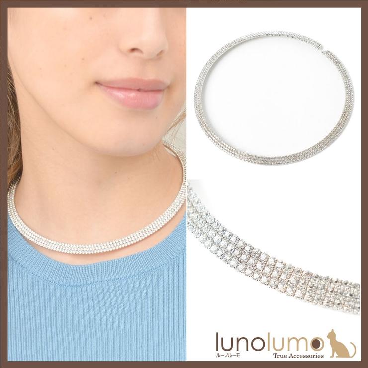 ネックレス チョーカーネックレス オメガネックレス | lunolumo | 詳細画像1
