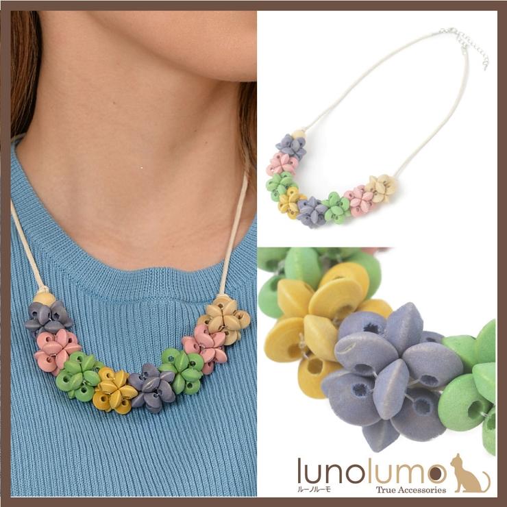 ネックレス ショートネックレス レディース | lunolumo | 詳細画像1