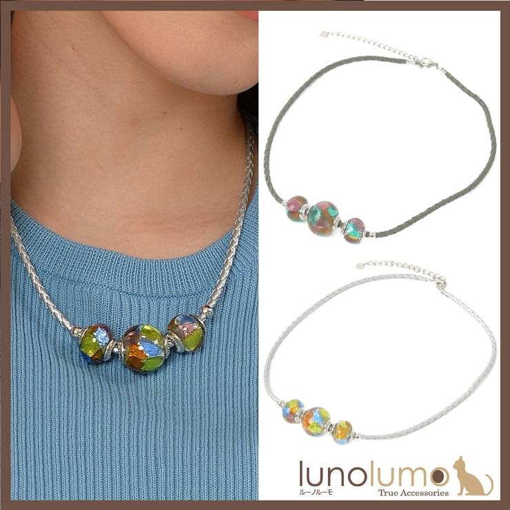 ベネチアングラスネックレス ベネチアンガラス ネックレス | lunolumo | 詳細画像1