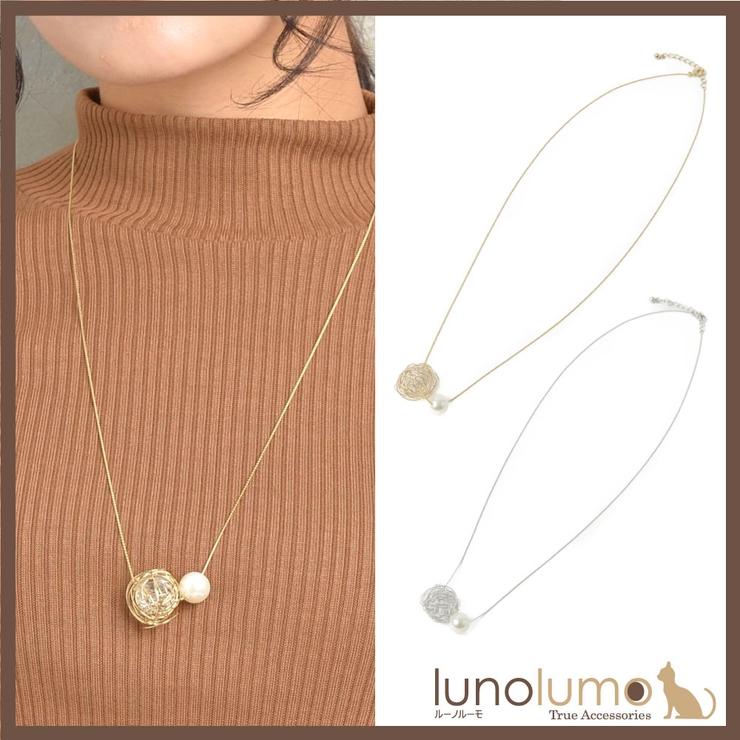 ネックレス レディース パール | lunolumo | 詳細画像1