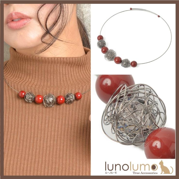 ネックレス チョーカー レディース | lunolumo | 詳細画像1