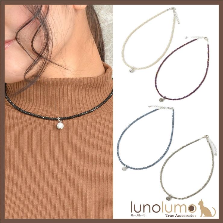 ネックレス ショートネックレス レディース   lunolumo   詳細画像1