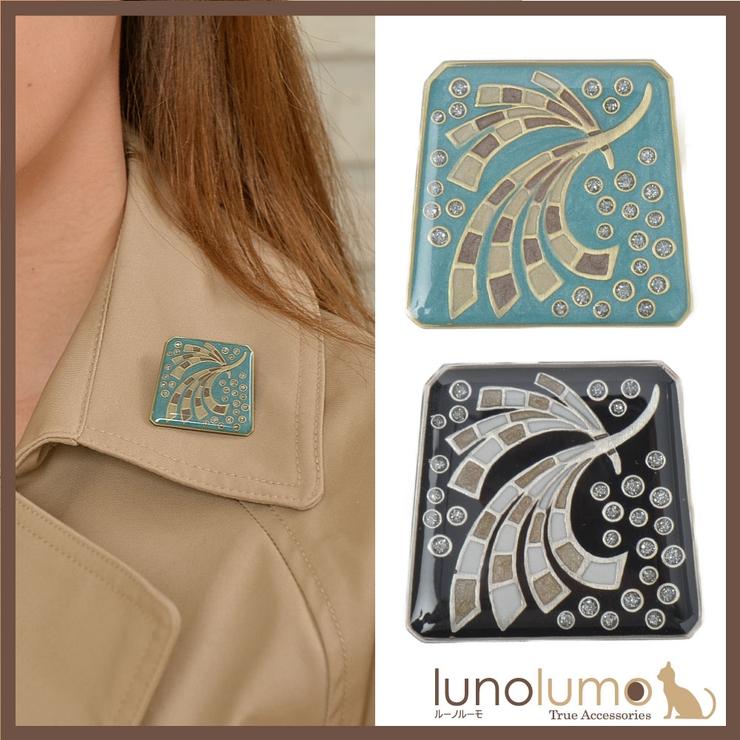 ブローチ スペイン製 羽 | lunolumo | 詳細画像1