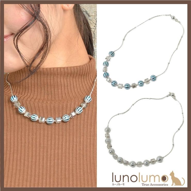 日本製 ネックレス ショートネックレス   lunolumo   詳細画像1