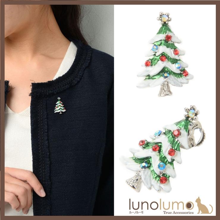 クリスマス ピンブローチ ラペルピン | lunolumo | 詳細画像1