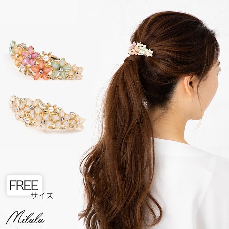 miluluのヘアアクセサリー/ヘアクリップ・バレッタ   詳細画像
