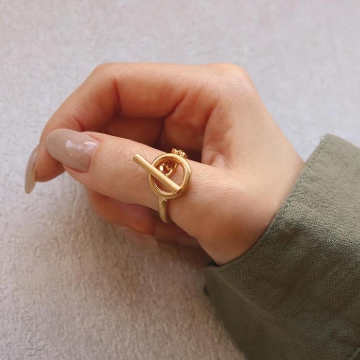 リングニッケルフリーメタルマンテル12号指輪 | 詳細画像